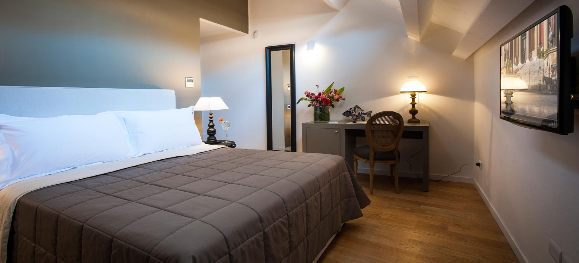 chambre d 39 h te palerme sicile hote italia. Black Bedroom Furniture Sets. Home Design Ideas