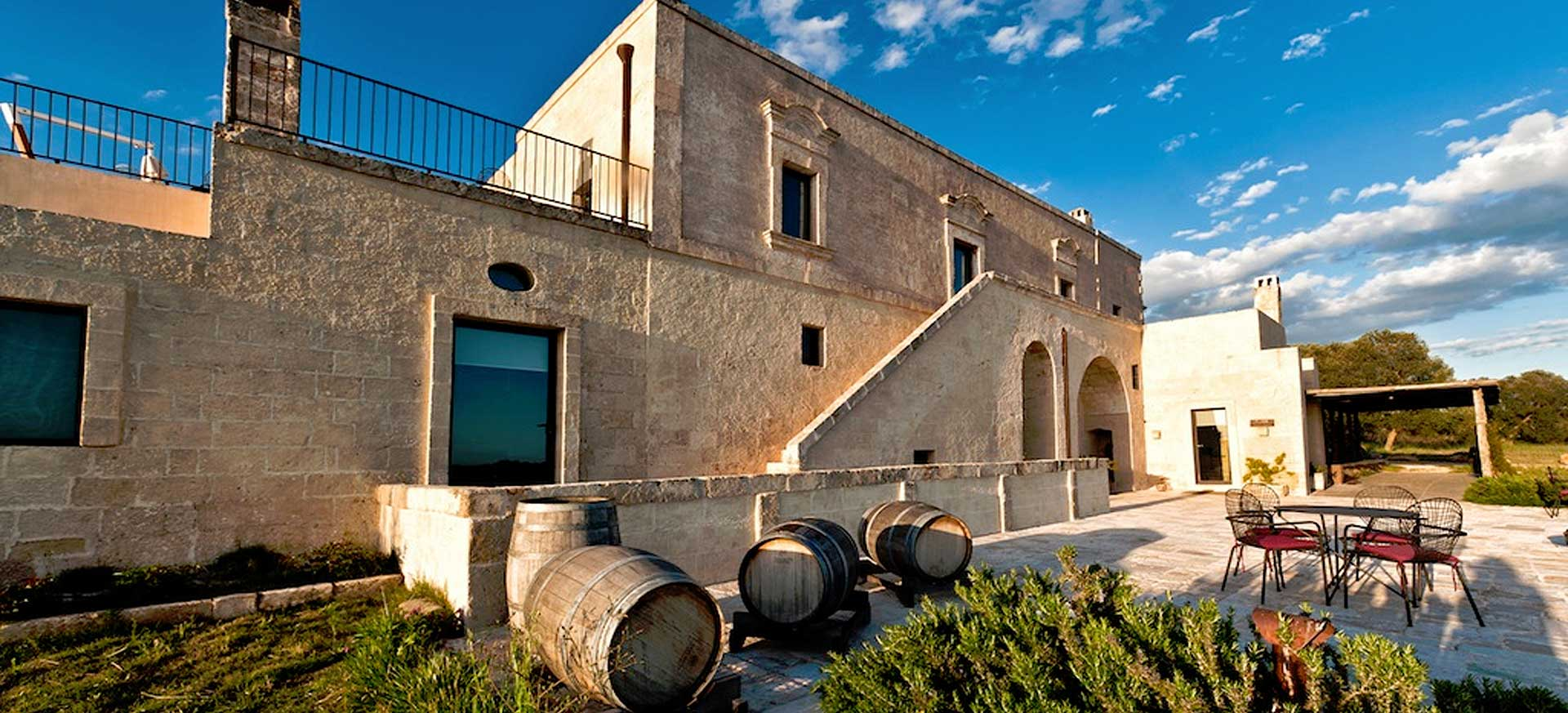 Luxury wine resort hotel Manduria - Taranto