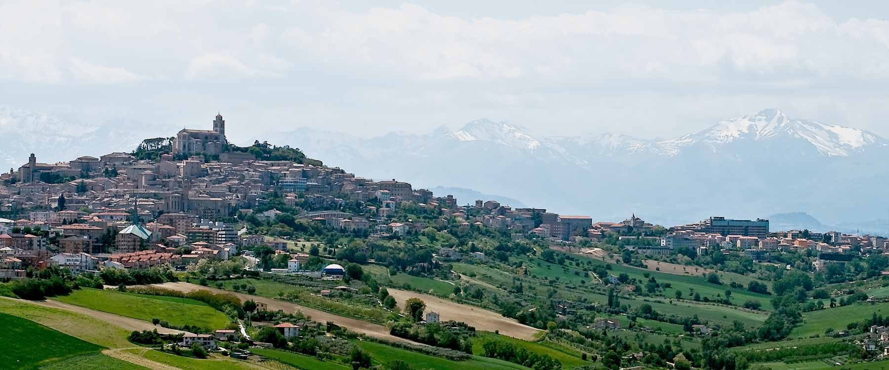 Fermo and its surroundings