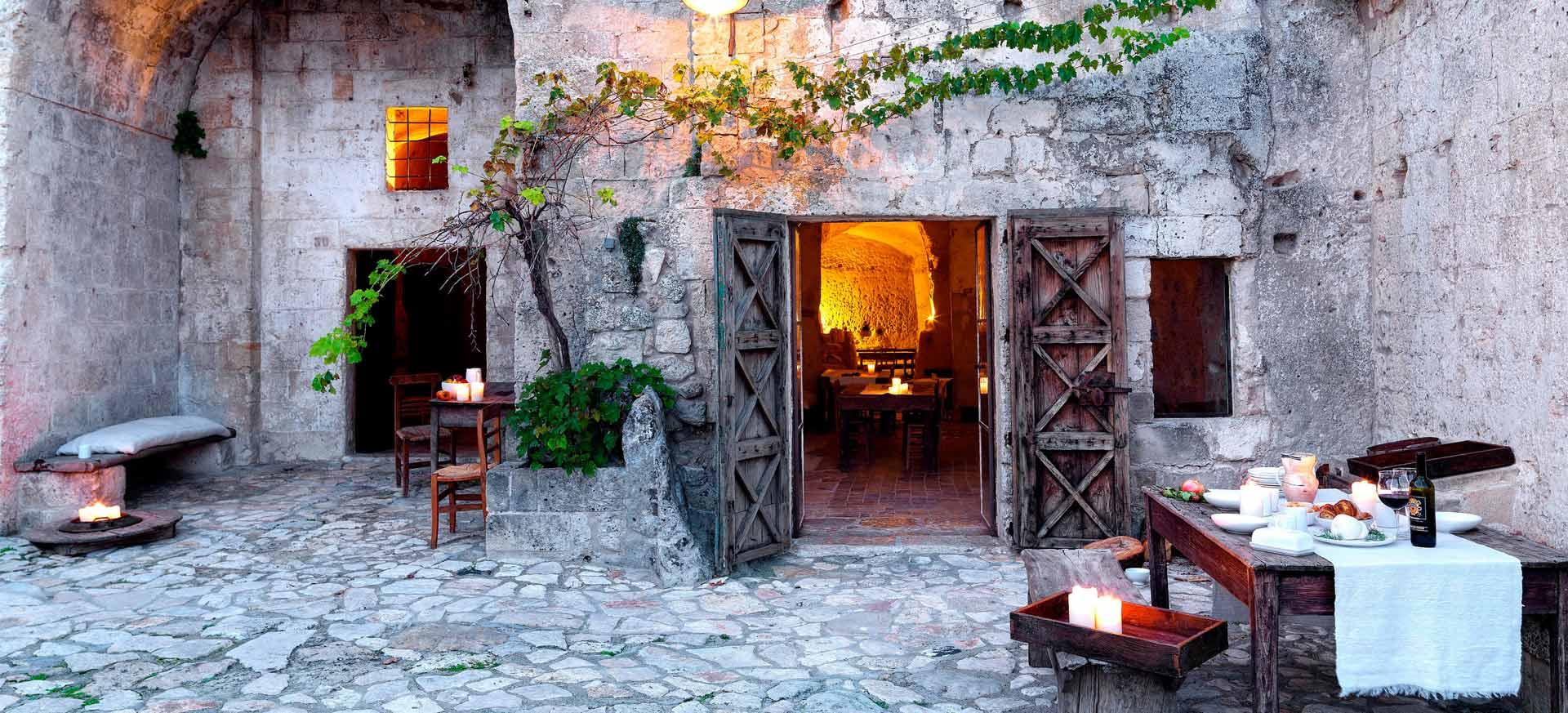 Hotel De Charme Dans Les Sassi De Matera Hote Italia