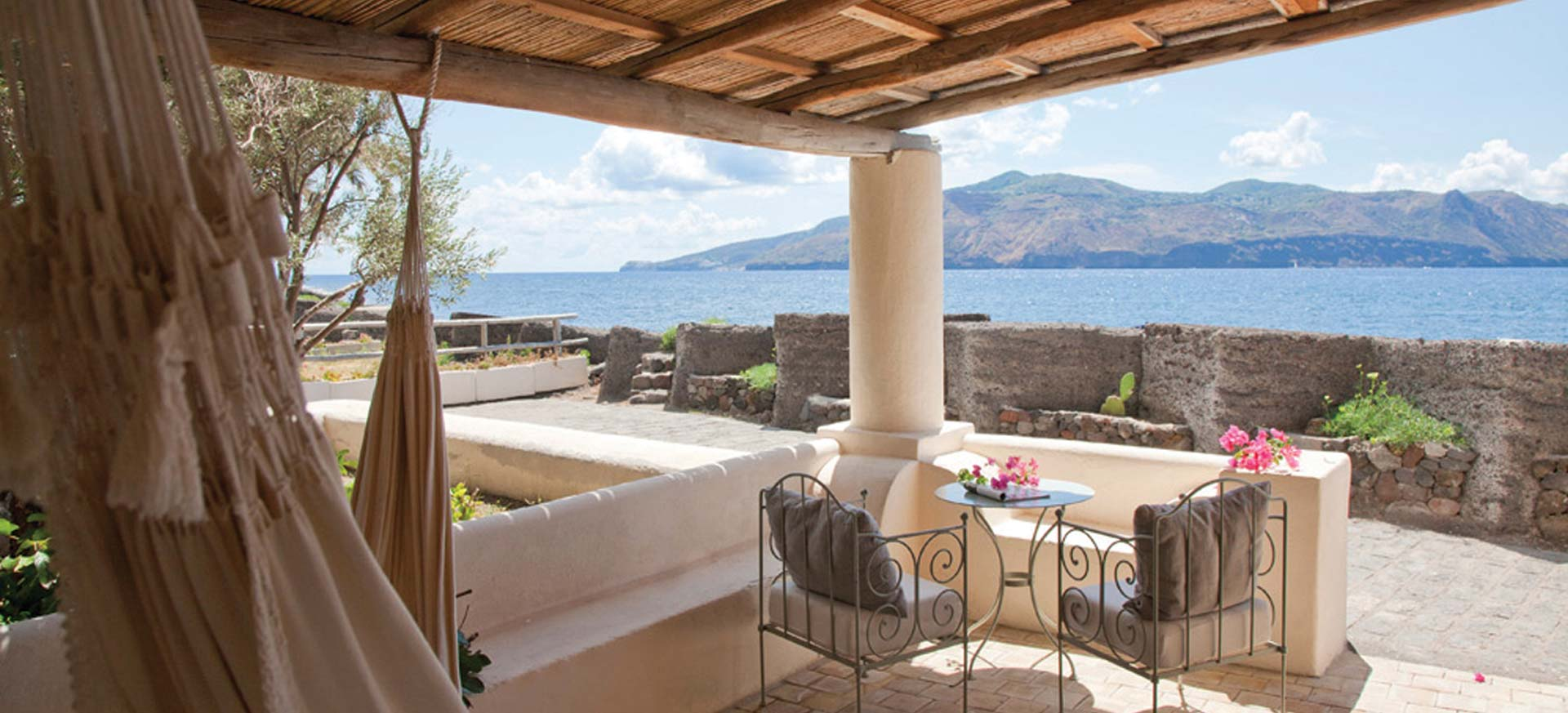 Luxury hotel Salina - Aeolian Islands